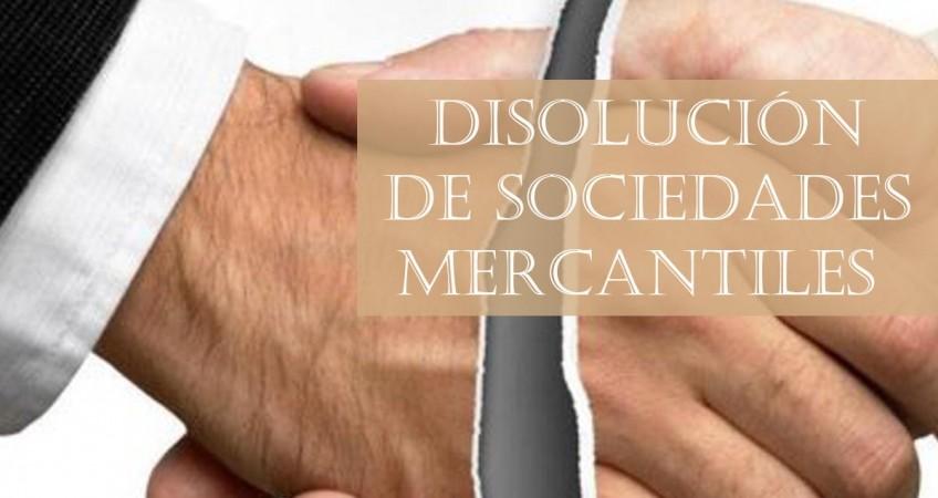 Disolución de sociedades mercantiles
