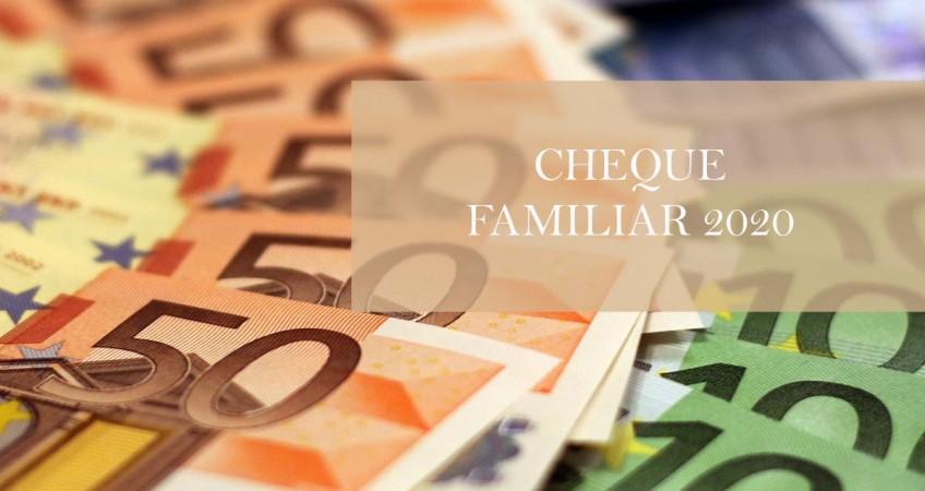 cheque familiar 2020