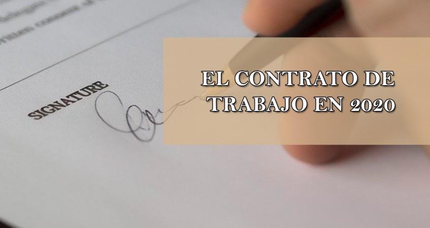 el contrato de trabajo en 2020
