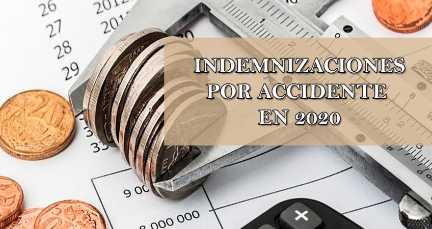 indemnizaciones por accidente en 2020