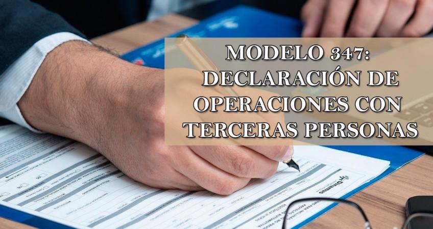 DECLARACION DE OPERACIONES CON TERCEROS