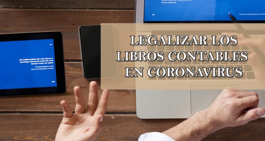 LEGALIZAR LIBROS CONTABLES