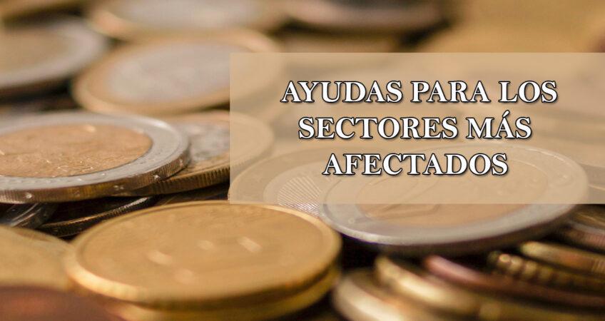 ayudas para los sectores más afectados por la pandemia